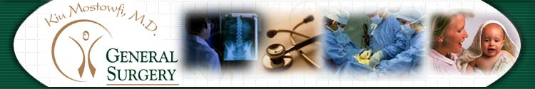 Dr. Kiu Mostowfi, M.D. for surgery and surgical services for the Chicago south suburbs